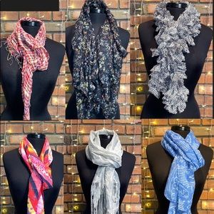 Lot of Fashion Scarves 🔥🔥Light Colorful Pretty